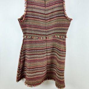 She + Sky Dresses - She + Sky Woven Sheath Dress Autumn Colors Large L